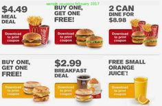 Mcdonalds Coupons February 2017 Free Promo Coupons Promo Codes