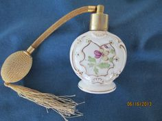 Vintage IRice Marked Handpainted Perfume Bottle With by BitofHope, $28.50