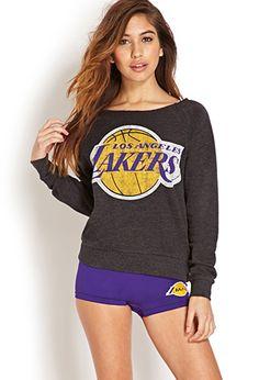 Los Angeles Lakers Sweatshirt | FOREVER21 - 2000069898