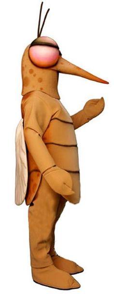 Mosquito mascot costume