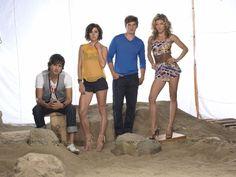 90210-- Michael Steger, Jessica Stroup, Matt Lanter, and AnnaLynne McCord.
