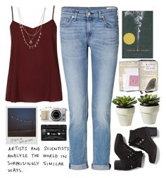 """""""Looking for Alaska"""" by french-heart ❤ liked on Polyvore featuring Topshop, rag & bone, Keds, Orelia and Floyd"""