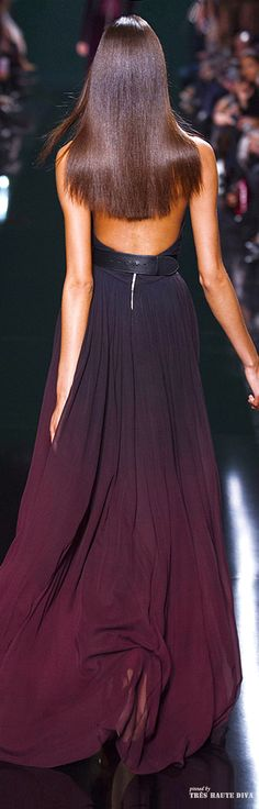 Was this dress not available for the Oscars?  I'd wear it! #Paris Fashion Week Elie Saab Fall/Winter 2014 RTW