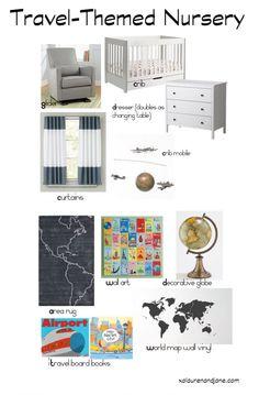 Nursery Decor Inspiration - xo, lauren and jane