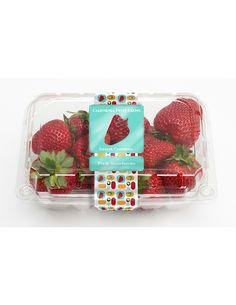 Strawberry Package Design Concept on Behance