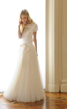 vestido novia tul by lovelypinkdream