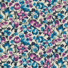 Denyse Schmidt - Shelburne Falls - Dress Floral in Lilac
