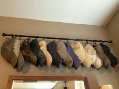 Master bedroom closet/hat storage