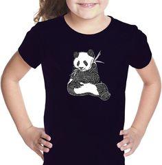 LOS ANGELES POP ART Los Angeles Pop Art Endangered Species Short Sleeve Girls Graphic T-Shirt