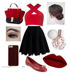 Date Night by bvb-aubrey on Polyvore featuring polyvore fashion style Motel Chicwish Tommy Hilfiger clothing