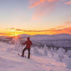 I love being outside - that's where I'm the happiest. Spectacular photo by @arcticfilm  Only sixty kilometers from Levi is this awesome Pallas-Yllästunturi National Park ☀️ Worth of visiting!  Pallaksen maisemat sykähdyttävät aina. Just soppelin matkan päässä, että kannattaa pyörähtää päivä mukin. Offareita löytyy pilvin pimein ja murtsikkalatuja tietty myös!  #breaklevi #sokoshotels #levilapland #visitfinland @ourfinland #visitlapland #in2nature #igscandinavia #bestvacations  Lapland…