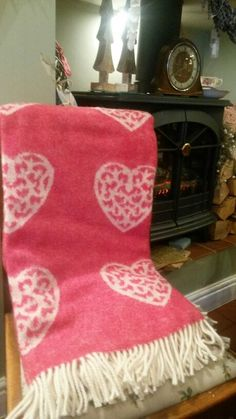 Beautiful snuggle blanket #snuggly #vintagestyle #vintagehome #constancewallace #teashop #theteashop #barntgreen #sogood #heart #vintagehome #vintageheartdesigns #vintageromance #blanket #snuggle