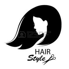 Design elements for barber shop Women hairstyle Black and white Hand drawing illustration photo Beauty Full, Photo Illustration, Barber Shop, Girl Boss, Hairdresser, Vector Art, Design Elements, Black Hair, Salons