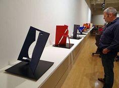 Fletcher Benton's letter sculptures #Photographic via @FraguasMarina