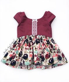 ruffled eyelet trim Girls Red Bloomers Custom Fit Available Ready-to-Ship Size 2T Easy Wash and Wear