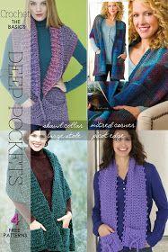 DiaryofaCreativeFanatic: Needlecraft - Knit, Crochet - Pocket Scarves