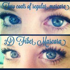I am obsessed with this mascara! Seriously it is AMAZING!  No falsies, no extensions, no glue, no Rx for Latisse, just this awesome 3D Fiber Mascara from Younique!  #younique #3d #fiber #lashes #mascara #makeup