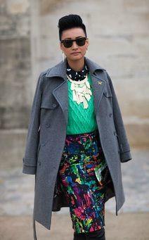 Paris fashion week-street style