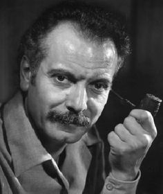 Georges Brassens (October 1921 - October French singer, songwriter and chansonnier. Louis Aragon, French Songs, Celebrity Stars, Star Wars, Famous French, Image Categories, Body Electric, Latest Music, Caricature