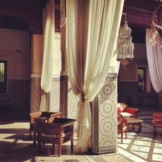 Morocco design - draping