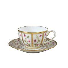 Roseraie Tasse et soucoupe à thé 140E