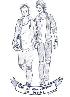 More Larry fan art