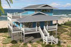 Pergola Kit Home Depot Beach Cottage Decor, Coastal Cottage, Coastal Homes, Coastal Living, Modern Coastal, Beach House Floor Plans, Coastal House Plans, Beach House Furniture, Patio Roof