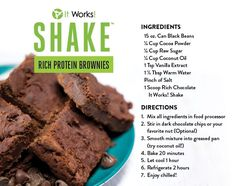 Black beans in my brownies say WHAT?! By adding black beans to the recipe you get some extra protein and fiber and a lot more ooey gooey deliciousness! #brownies #blackbeans #protein #fiber www.newwrapcraze.com