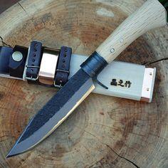 【TV放映】サバイバルアウトドア・ナイフ150青両刃