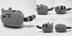 Amigurumi Pusheen the Cat - FREE Crochet Pattern / Tutorial