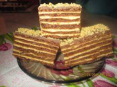 Prajituri de casa: Marlenka Cacao Recipes, Romanian Food, Hungarian Recipes, Dessert Recipes, Desserts, Waffles, Caramel, Food And Drink, Cooking Recipes