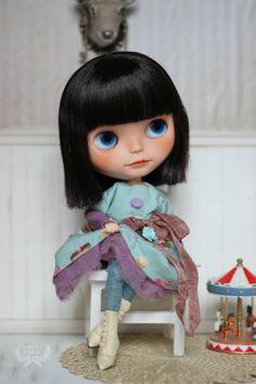 Romantic decadence dress for blythe doll and similar par Cakau