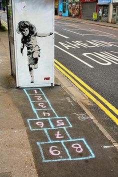 Urban Hopscotch by Canis Major, via Flickr