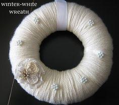{ winter–white wreath }