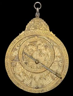 Old Arabic astrolabes.  Source: Astrolabe Catalogue