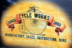 old bicycle shop
