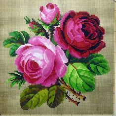 Gallery.ru / Фото #130 - Схемы - lilifurman Dmc Cross Stitch, Cross Stitch Tree, Cross Stitch Flowers, Cross Stitching, Cross Stitch Embroidery, Crochet Flower Tutorial, Crochet Flowers, Cross Stitch Designs, Cross Stitch Patterns