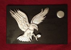 Eagle By The Moonlight by MoonLightMammals on Etsy, $95.00