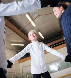 Perfect for on-ice spinning to off-ice hanging. | Perfect your Practice Jacket