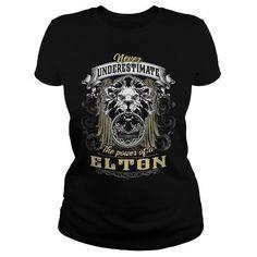 I Love  ELTON, ELTON T Shirt, ELTON Tee Shirts & Tees