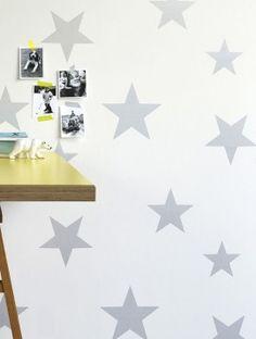 papel-pintado-estrellas-grisses