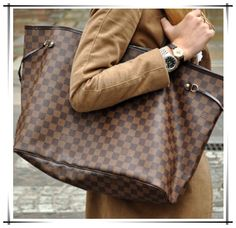 Neverfull Is The Best Choice To Send Your Friend As A Gift. Just $232.99!!! #Louis #Vuitton #Handbags