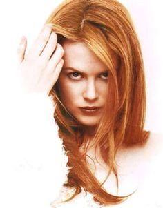 Natur rote haare