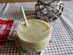Smoothie de plátano, kiwi y jengibre | Cocinar en casa es facilisimo.com