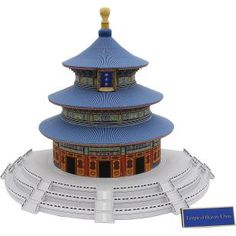 Temple of Heaven, China,Architecture,Paper Craft,Asia / Oceania,China,world heritage,wooden structure,building