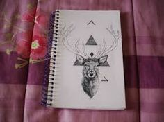cadernos customizados tumblr - Pesquisa Google
