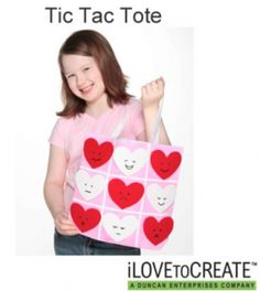 Back-to-School Craft Ideas and Shopping Tips- Tic Tac Tote