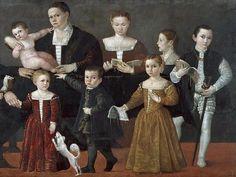 Ritratto della famiglia Valmarana, Giovanni Antonio Fasolo 1553-1554