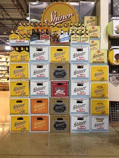 No summer is complete without a ton of Shiner.