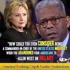 SHE'S NOT TRUSTWORTHY, SHE'S OWNED BY THE MUSLIM BROTHERHOOD AND BILDERBERG GROUP, WHO WANT TO IMPLEMENT A NEW WORLD ORDER AND SHARIA LAW--SHE'S OBAMA IN A PANTSUIT--PLEASE AMERICA VOTE TRUMP TO END POLITICAL CORRUPTION AND SAVE OUR COUNTRY